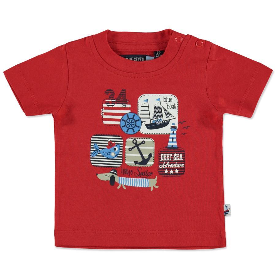BLUE SEVEN Boys T-Shirt Rouge maritime