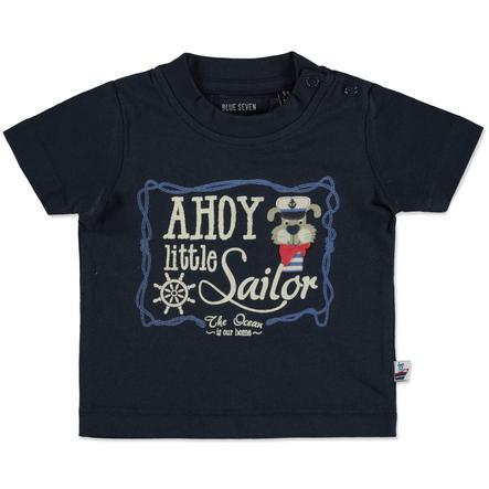 BLUE SEVEN T-Shirt Ahoy kleine Sailor donkerblauw