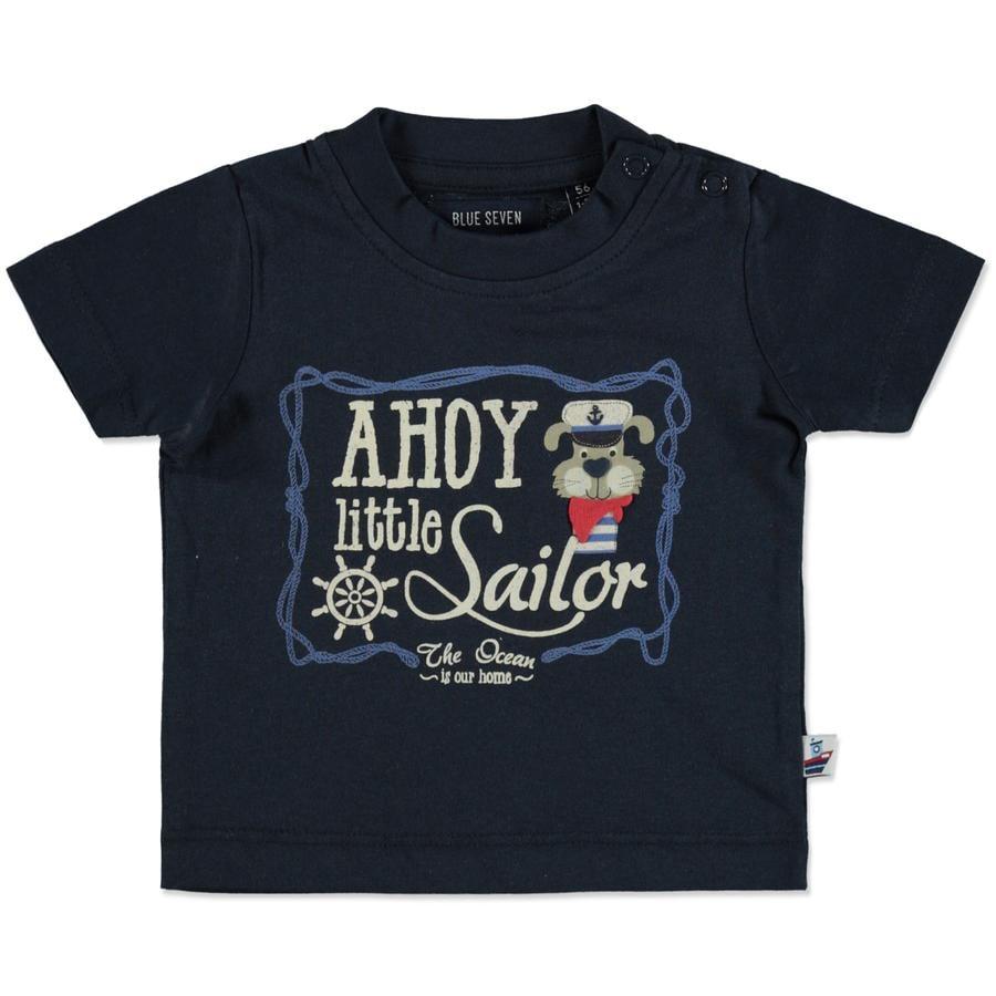BLUE SEVEN T-Shirt Ahoy little Sailor dunkelblau