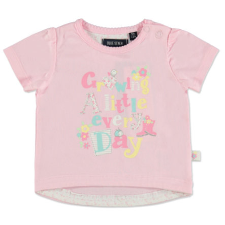 BLUE SEVEN Girl s T-Shirt Afdrukken roze