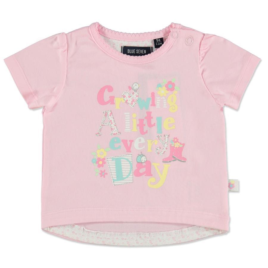 BLUE SEVEN Girl s T-Shirt Imprimir rosa