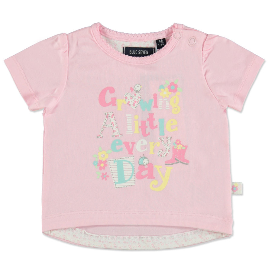 BLUE SEVEN Girls T-Shirt Print rosa