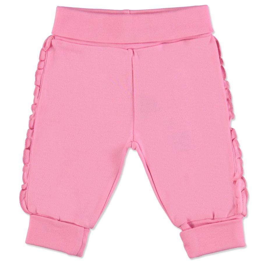 BLUE SEVEN Girl s Roze gebreide broek in roze breiwerk