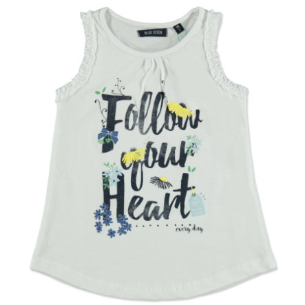BLUE SEVEN Girls Top weiß