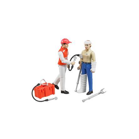 bruder® Juego de figuras - servicio de rescate 62710