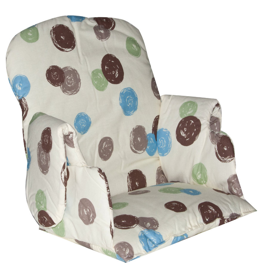 GEUTHER Seat Cushion for Minou and Family Highchairs Design 107