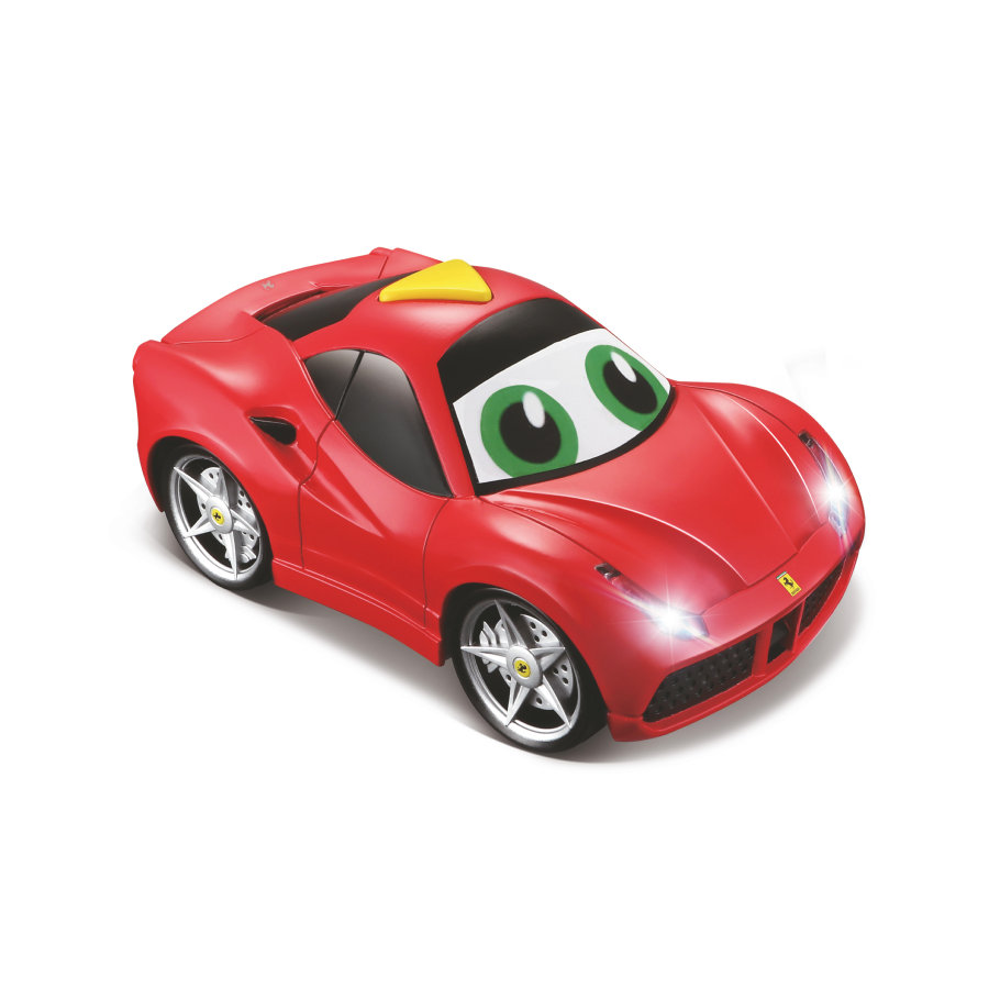 bbJUNIOR™ Samochód Ferrari Light & Sound 488 GTB, 12 cm