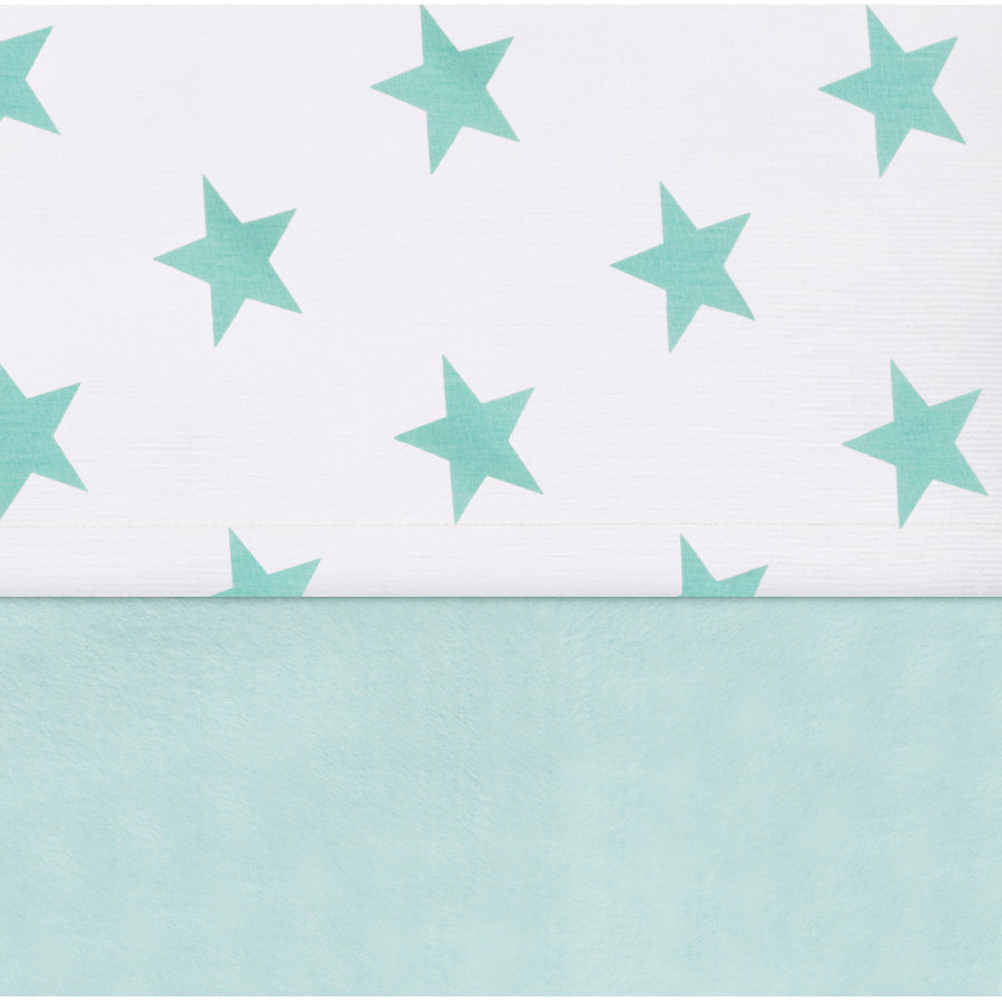 jollein Laken Little star jade 120x150cm