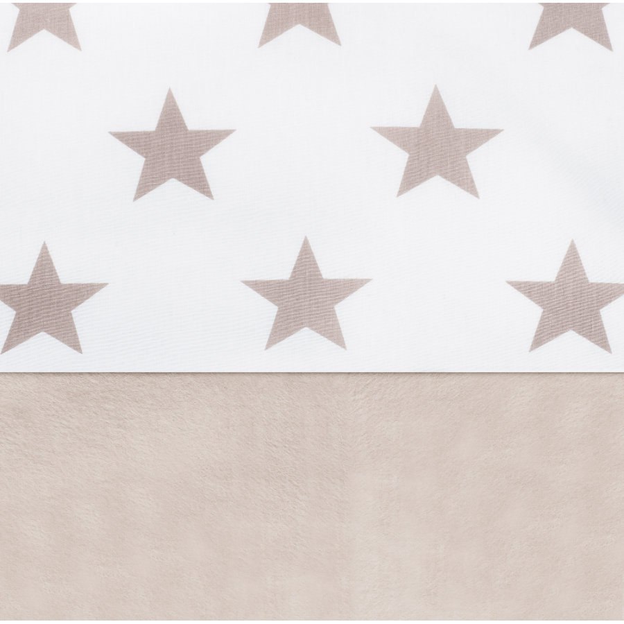 jollein Laken Little star sand 75x100cm