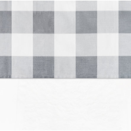 Jollein lagn Check grå 120x150cm