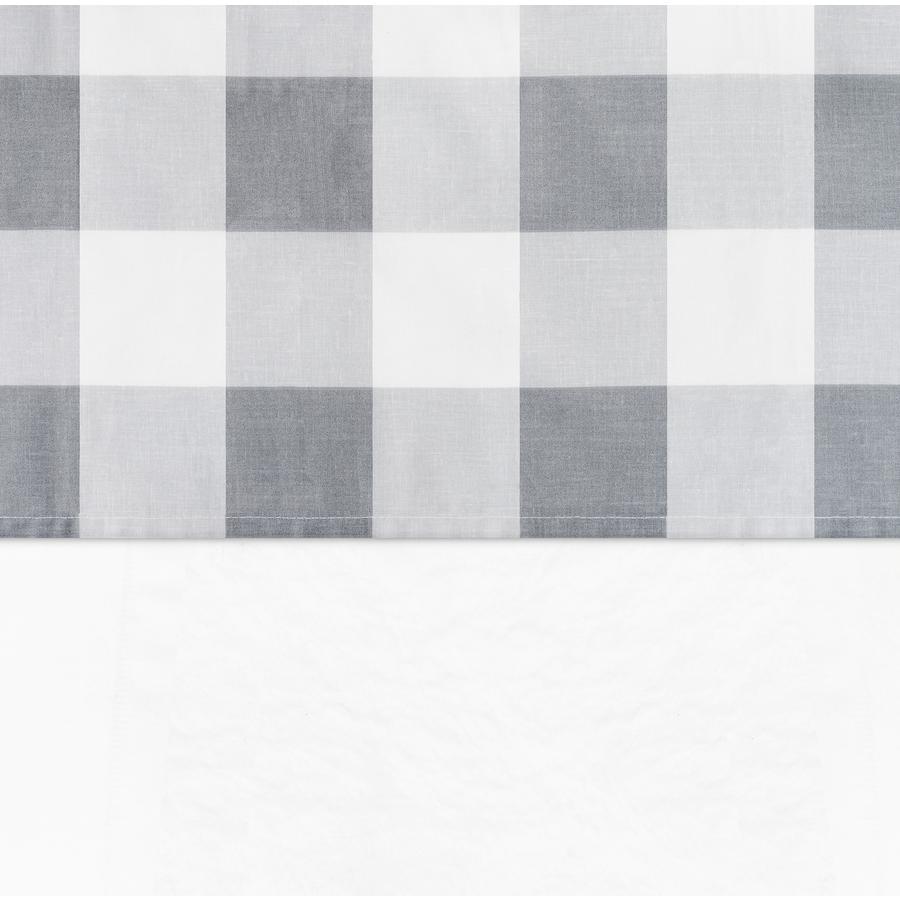 jollein Laken Check grijs 120x150cm