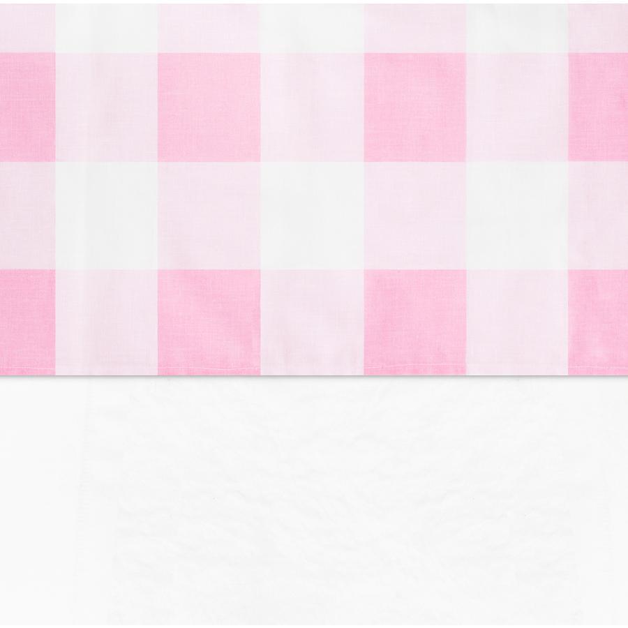 jollein Laken Check roze 120x150cm