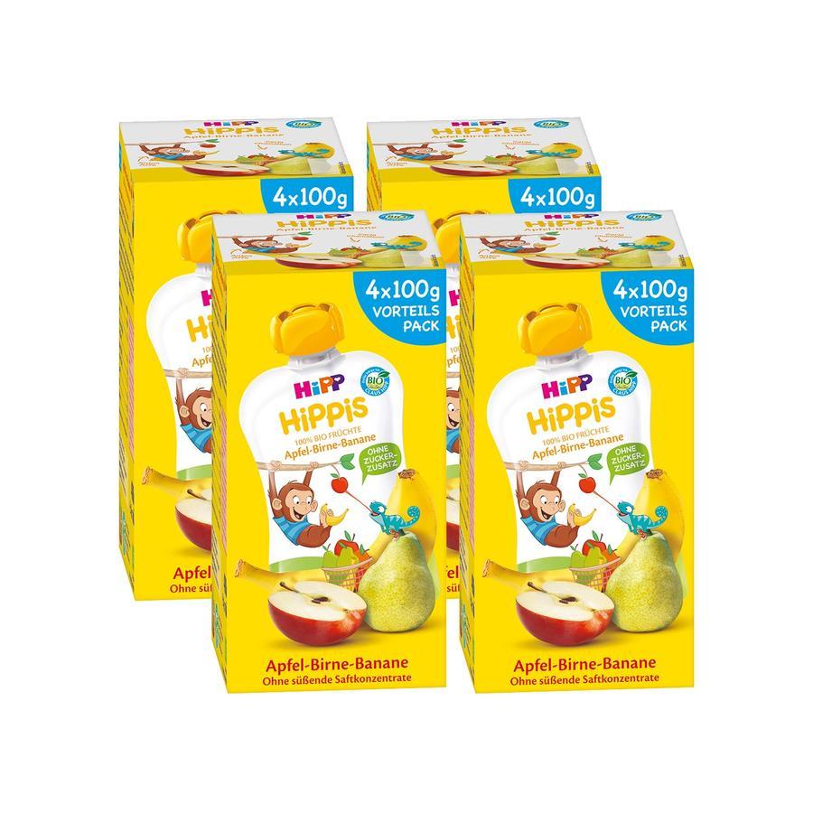 HiPP HiPPiS Bio-Apfel-Birne-Banane Anton Affe 16 x 100 g ab dem 1. Jahr