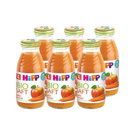 HiPP Bio-Saft Apfel Karotte 6 x 200 ml ab dem 5. Monat