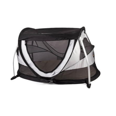 Deryan Travel Bed / Travel Cot Peuter Box silver