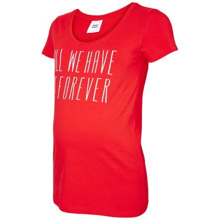 mama licious chemise circonstance rouge feu