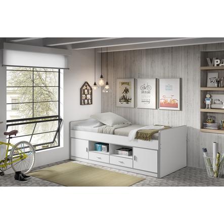 VIPACK dětská postel Bonny 14 s úložným prostorem, bílá