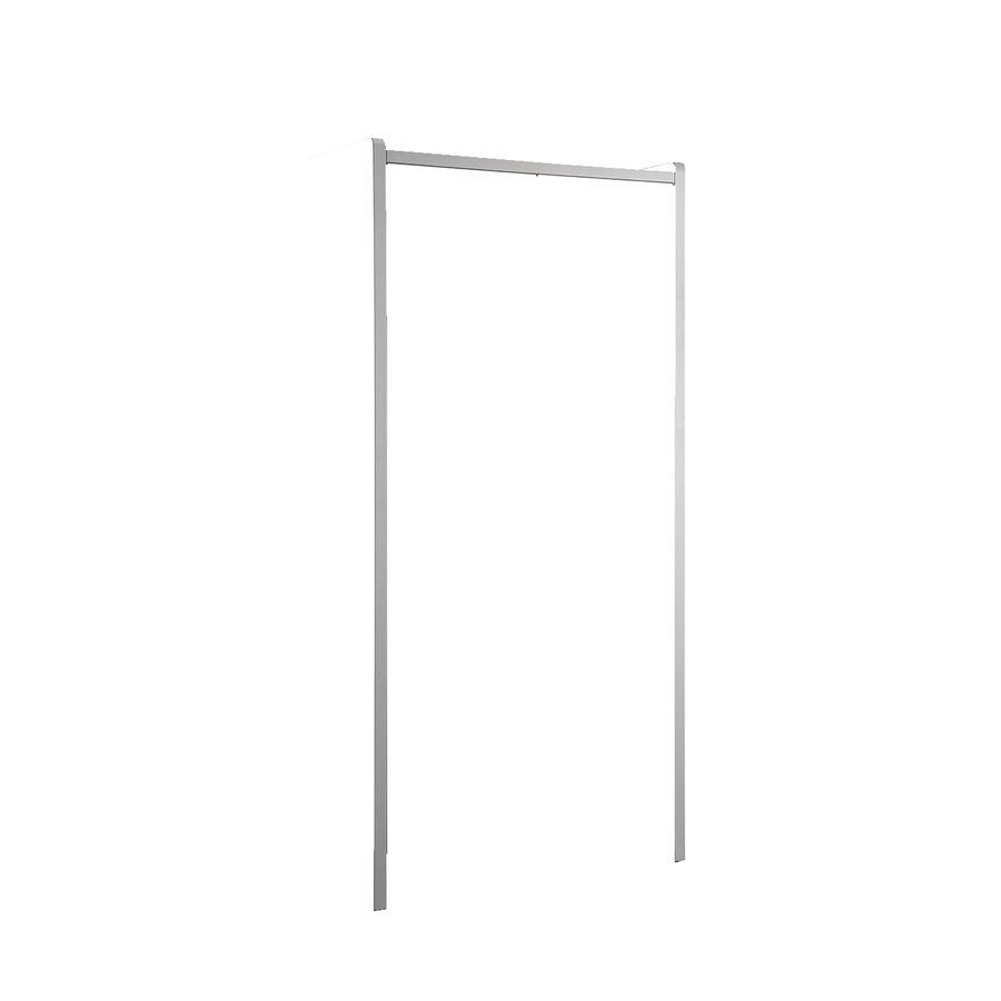 VIPACK Kleiderschrank 2-türig Bonny 07 weiß-blau