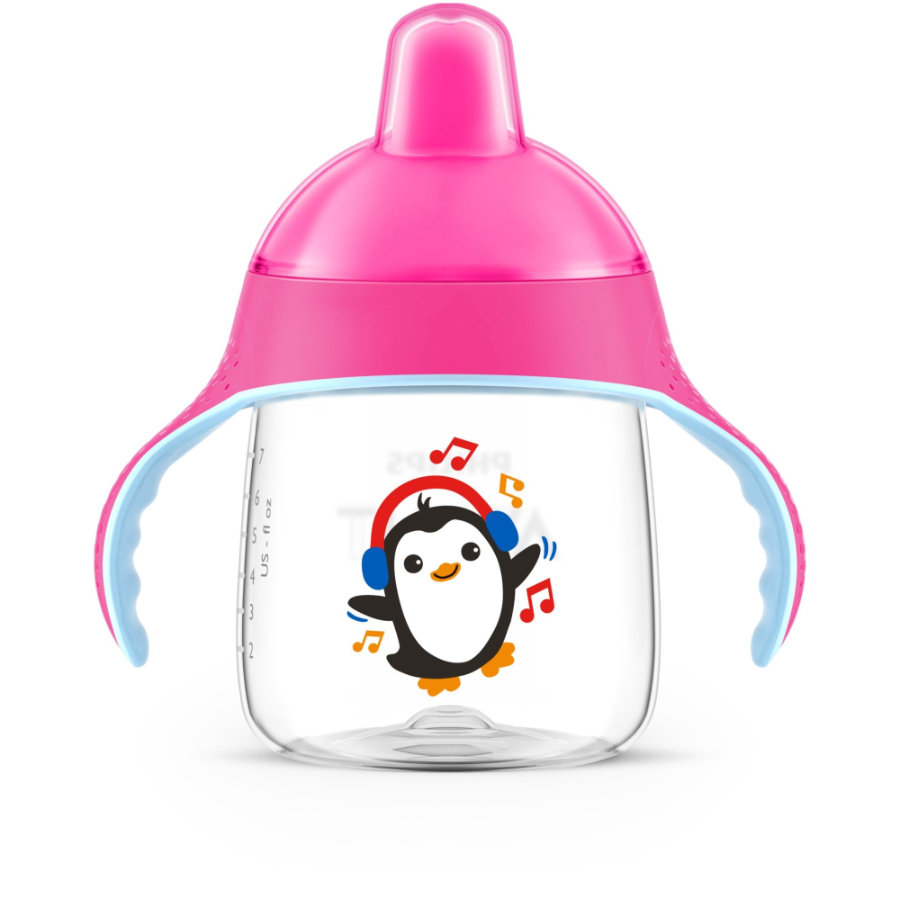 Philips Avent Schnabelbecher SCF753/07 pink 260 ml 12M+ Pinguin