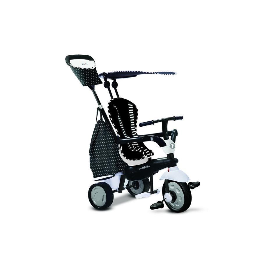 SmarTrike® Glow Touch Steering® 4-in-1 Dreirad, schwarz/weiss -