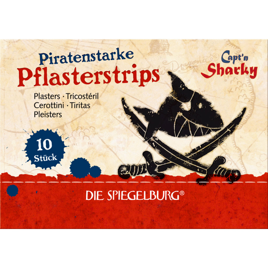 COPPENRATH Pflasterstrips Capt'n Sharky