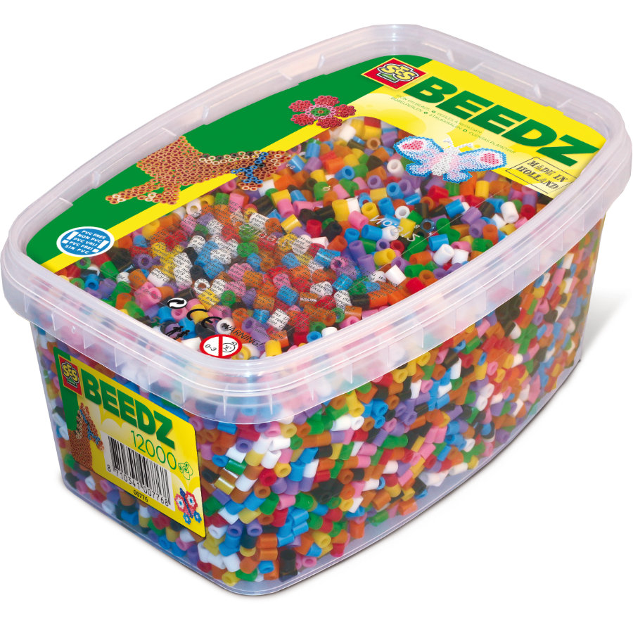 SES Creativ e® Basic Mezcla de perlas de planchado, 12000 piezas