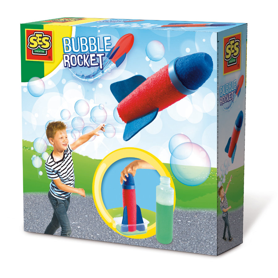SES Creative Bubble Rocket