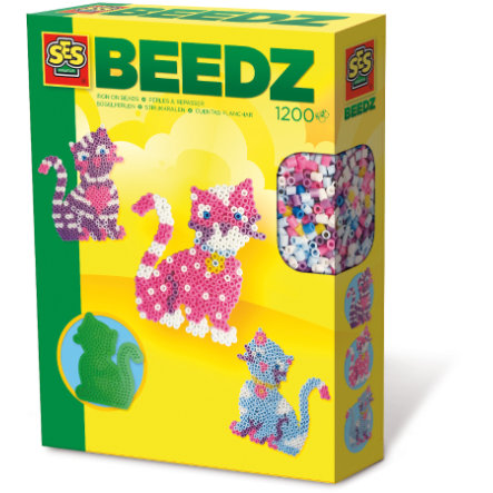 SES Creative Bügelperlenset Beedz - Katze