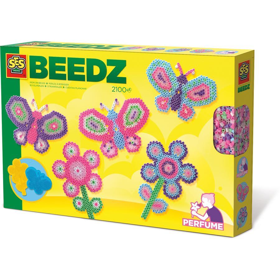 SES Creative Beedz: Strijkkralen vlindertuin