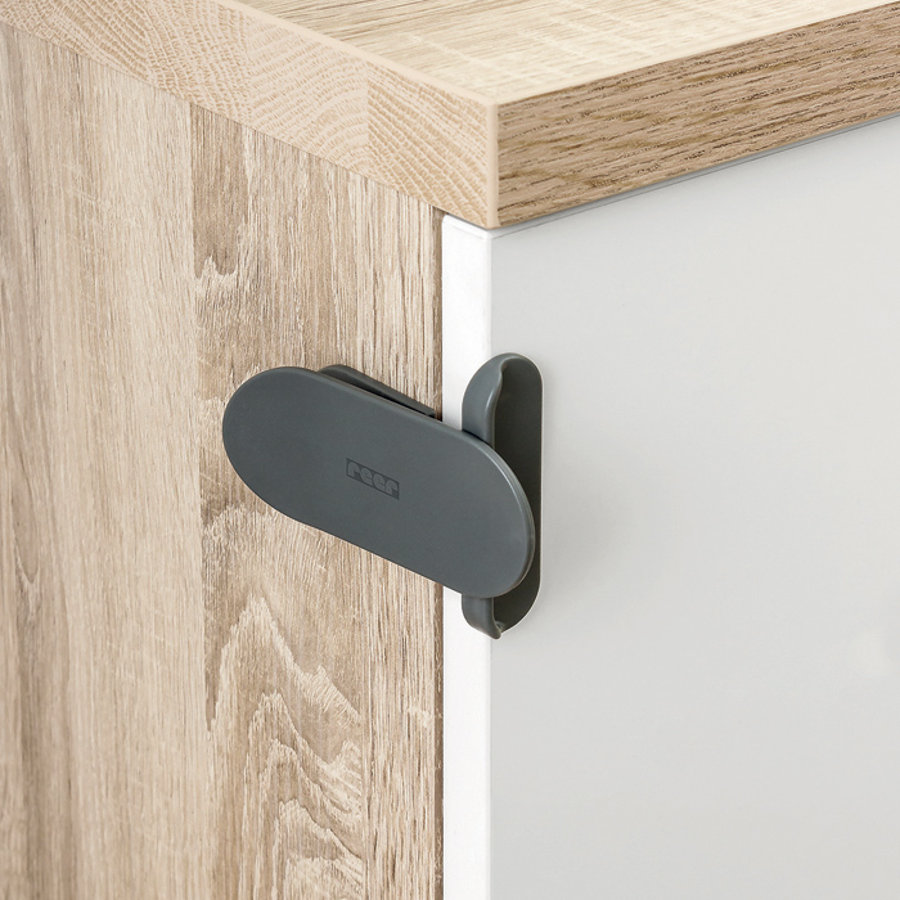 REER DesignLine Electronic Appliance Lock anthracite