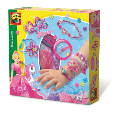 SES Creative Glitter dreams - Glitter armbanden