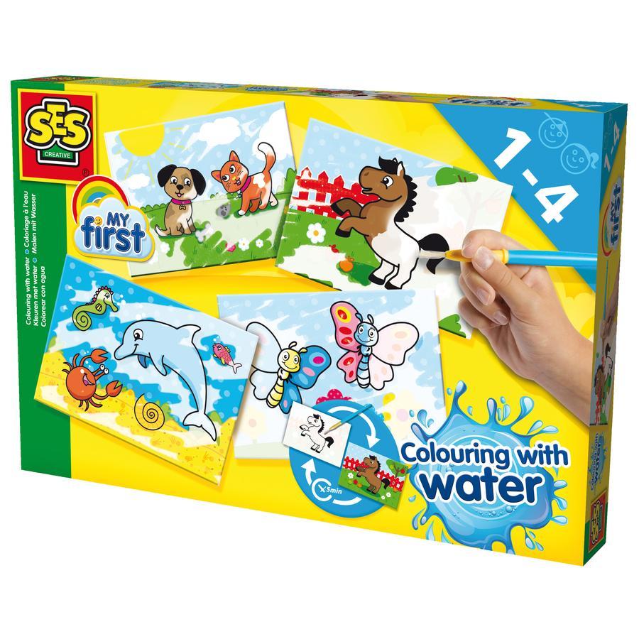 SES Creative® Peinture à l'eau enfant My first