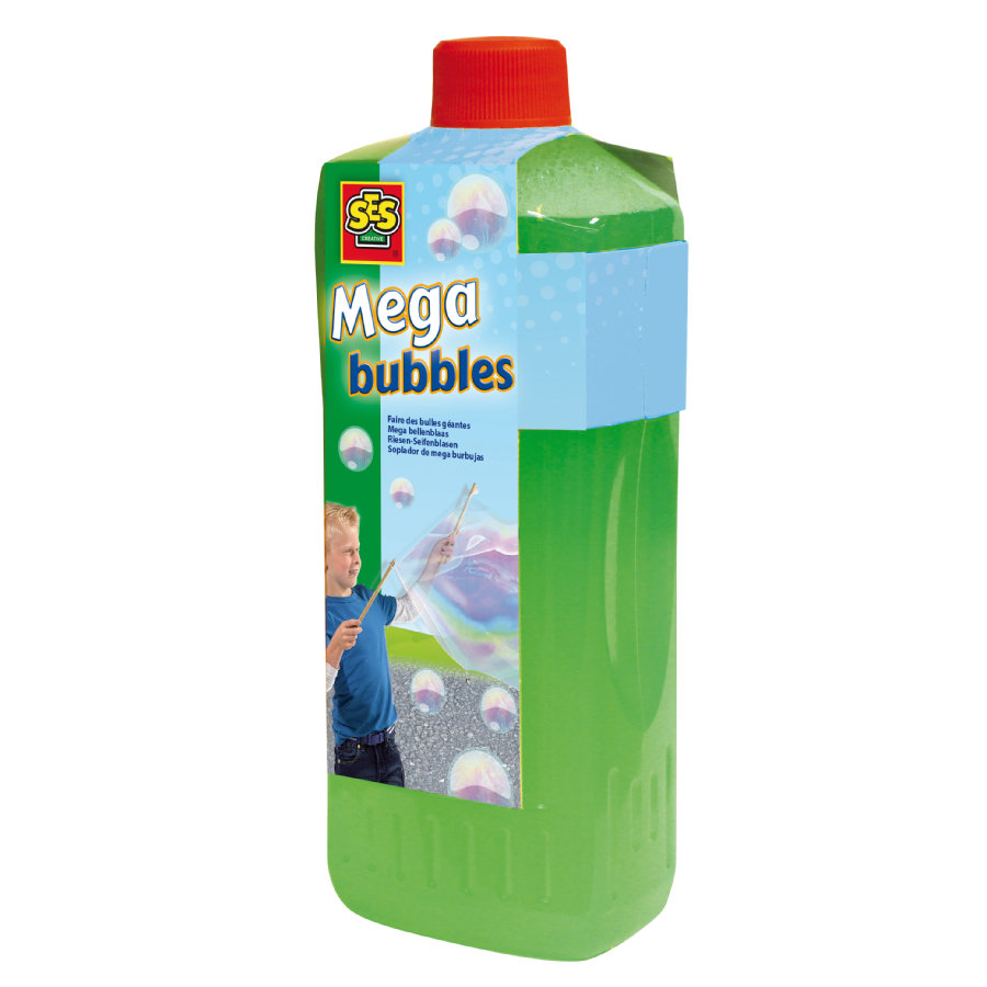 SES Creative® Kit recharge solution pour bulles de savon géantes 750 ml