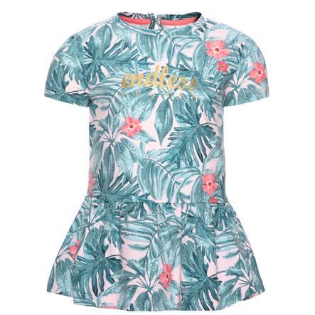 name it Girls T-Shirt Gertrud pink dogwood