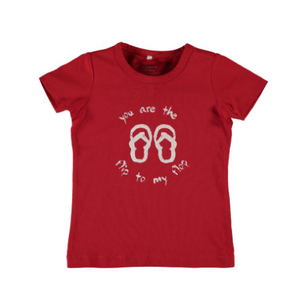 name it Girls T-Shirt Vixgi tango red
