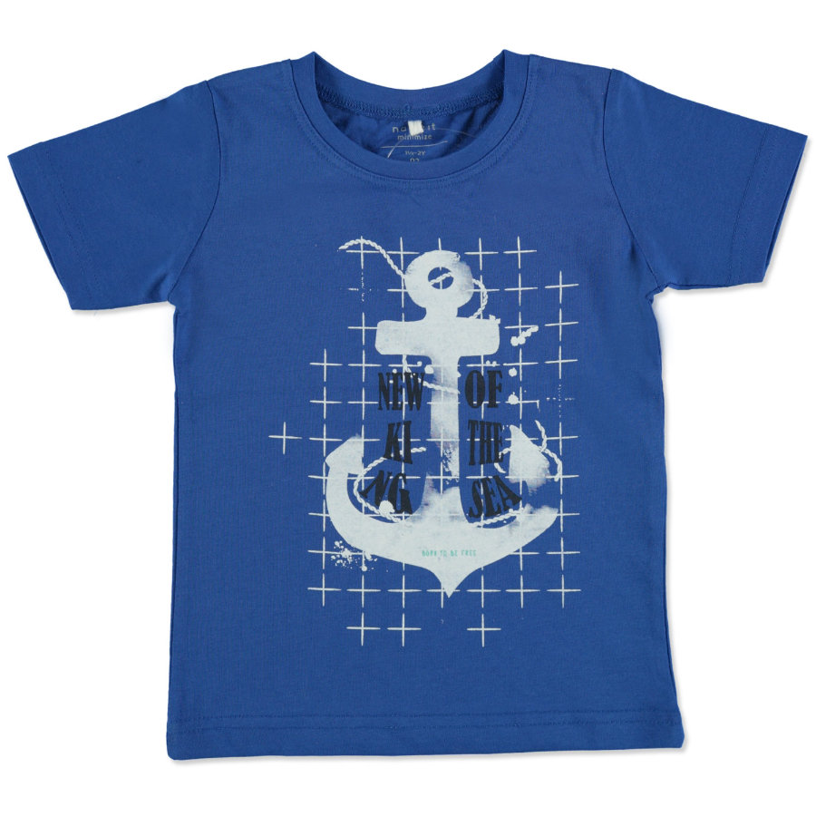name it Boys T-Shirt Victorfro nautical blue