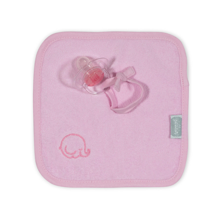 jollein Doudou attache-sucette rose
