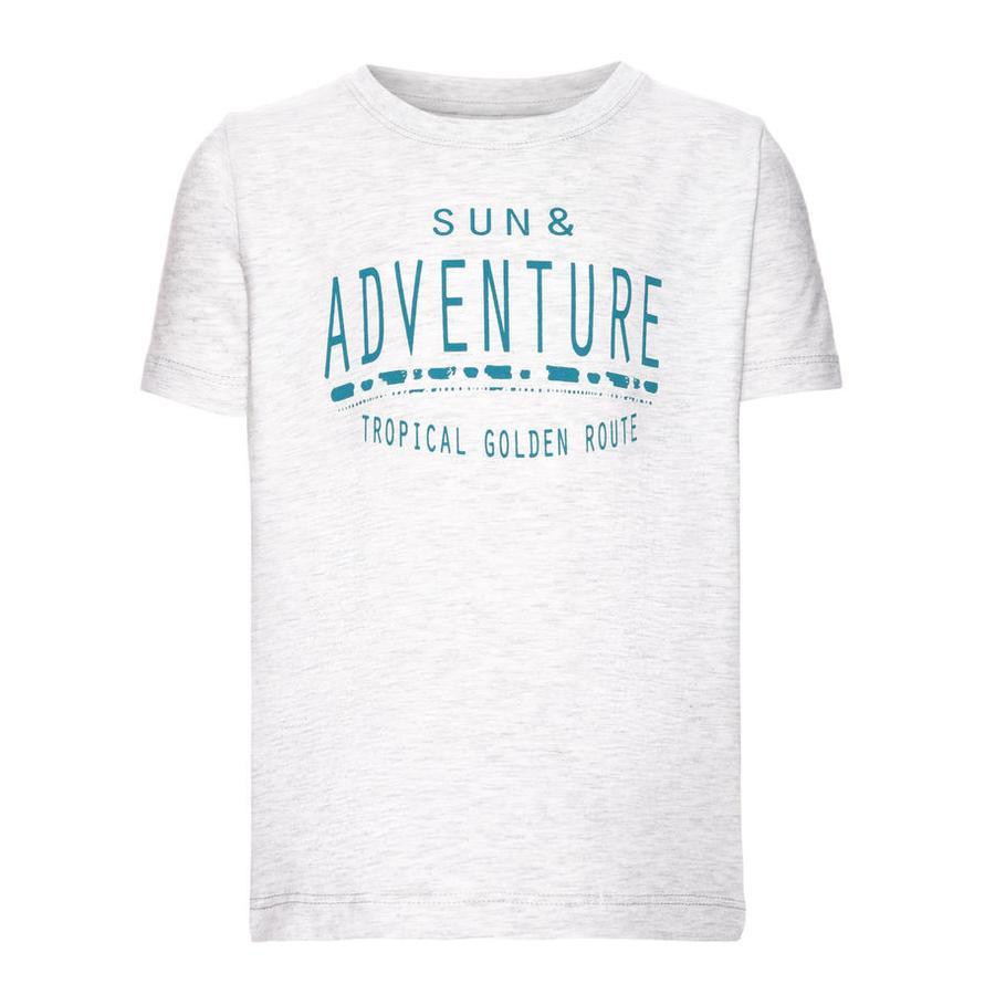 name it Camiseta de niño Vuxgert light gris mélange