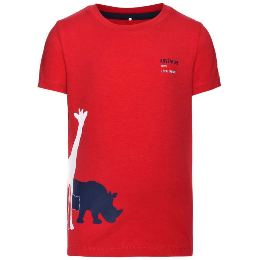 name it Boys T-Shirt Give tango red