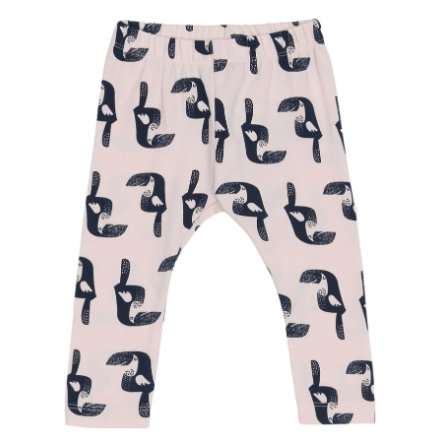 name it Girls Leggings Genny pink dogwood