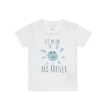 name it T-Shirt Gerlef blanco brillante