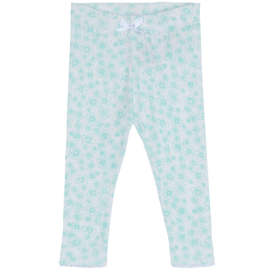 name it Girls Leggings Denise aqua haze
