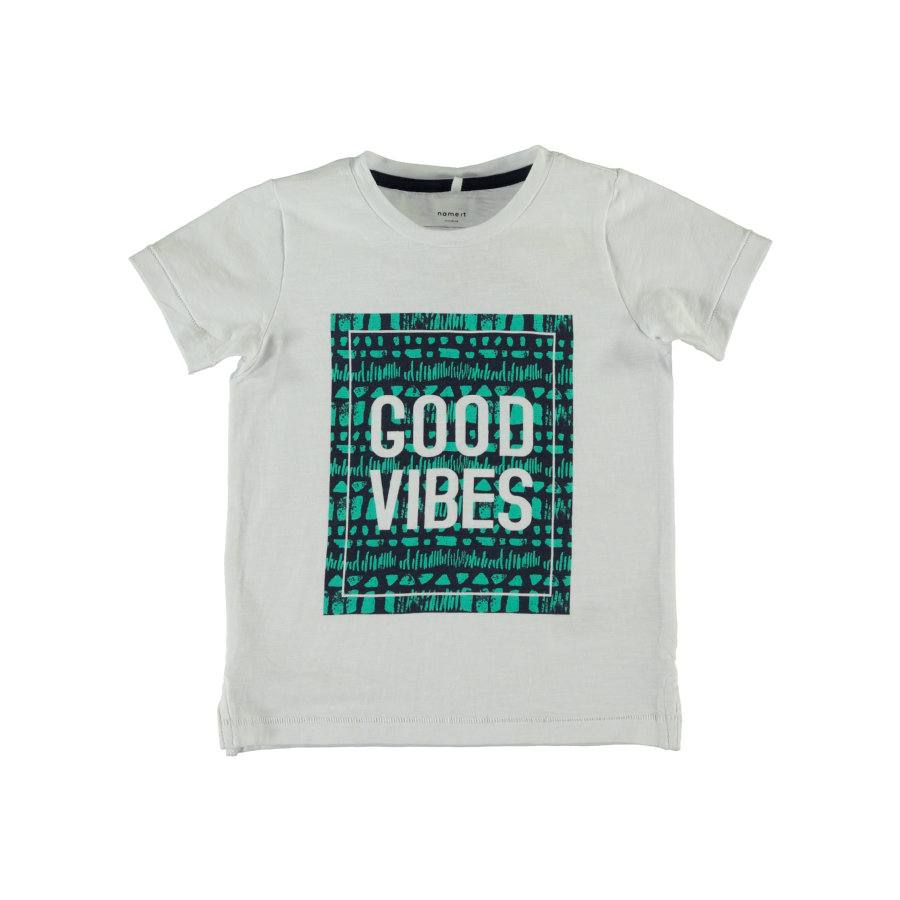 name it T-shirt Gils b höger vit