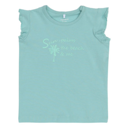name it Girls T-Shirt Gombo aqua haze