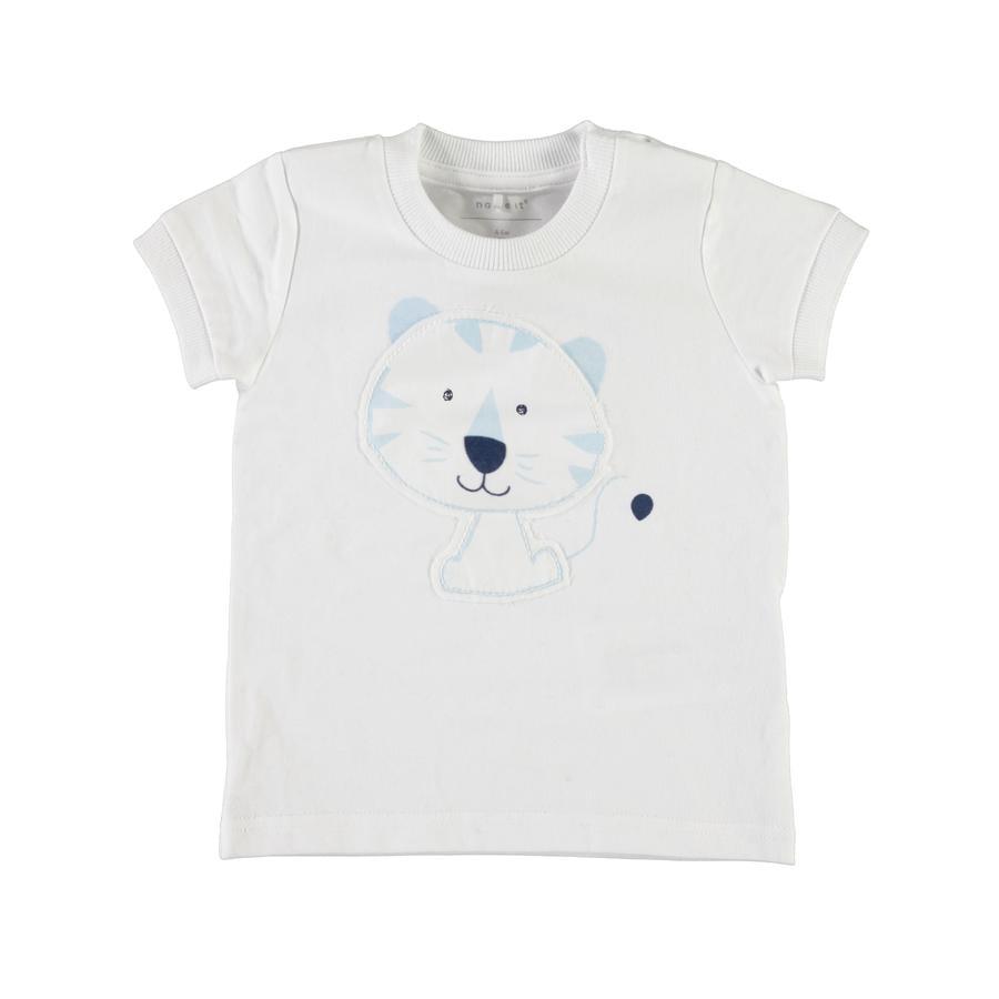 name it T-Shirt Géranium blanc vif