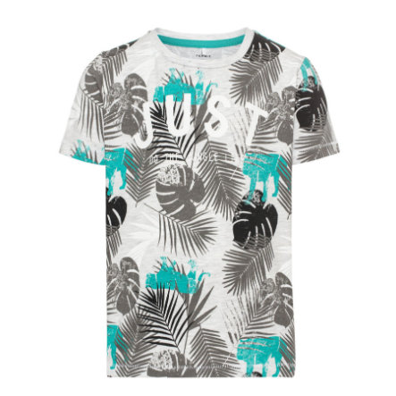 name it Boys T-Shirt Gio light grey melange