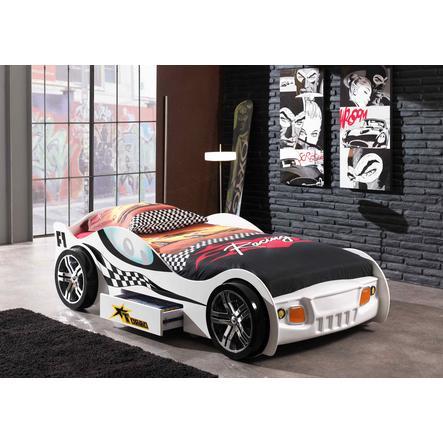 VIPACK Cama en forma de coche Turbo Racing blanco