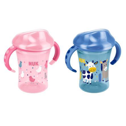 NUK Easy Learning Starter Cup Soft-Trinktülle aus Silikon 200ml verschiedene Farben