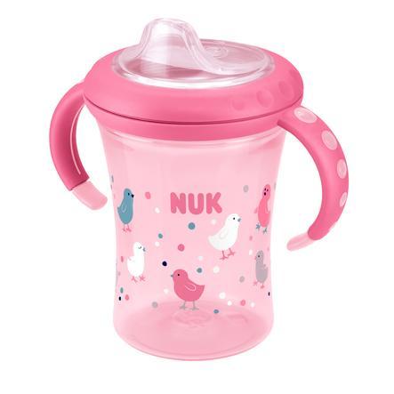 NUK Easy Learning Starter Cup Design: Vogel ab dem 6. Monat inklusive einer Trinktülle