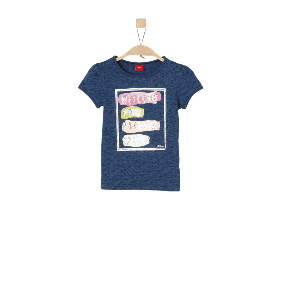 s.Oliver Girls T-Shirt dark blue